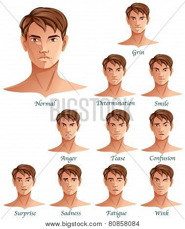 Male Expressions