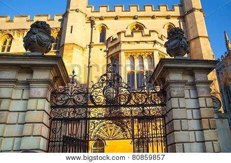 CAMBRIDGE, UK - JANUARY 18, 2015: Cambridge university council