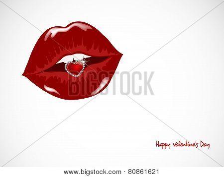 Heart In Lips