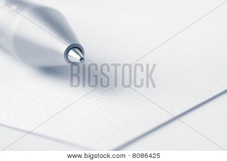 Pen Closeup
