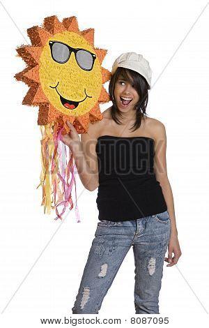 Happy Sunny Teen