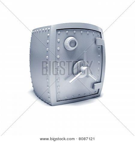 Metal safe.