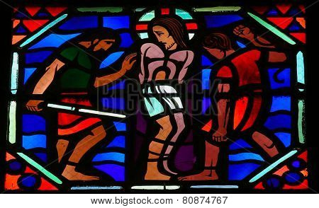Torture Of Jesus On Good Friday