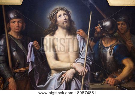 Jesus On Good Friday - Painting In Museum Of Rouen