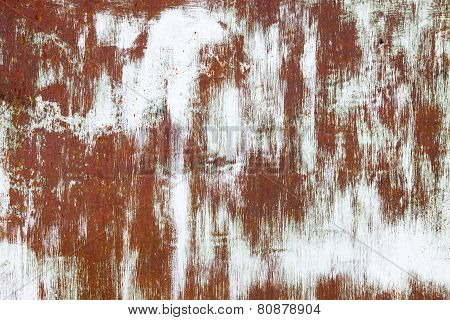 Old Rusty Vintage Iron Metal Background