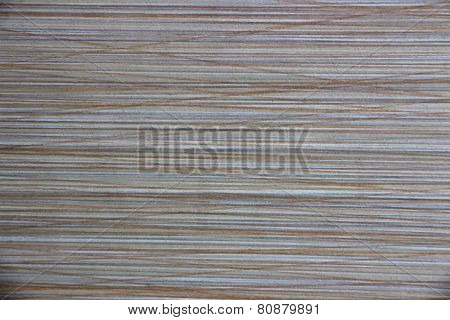 Striped with brown and gray lines