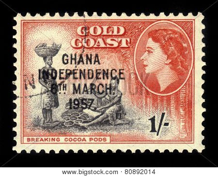 Cocoa Processing, Ghana