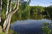 picture of ponds  - Beach pond - JPG