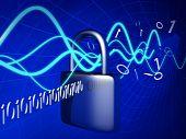 Постер, плакат: Технологии безопасности и концепция безопасности