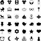������, ������: Baby icons set