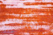pic of scrap-iron  - rusty vintage metallic iron pink orange horizontal background - JPG