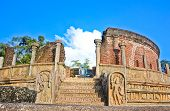 image of polonnaruwa  - The Kingdom of Polonnaruwa was the kingdom from which Sri Lankan kings ruled the island from the 8th century until 1310 CE - JPG