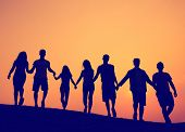 picture of friendship  - Friendship Togetherness Unity Friends Concept - JPG