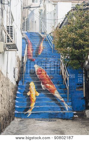 The Koi Stair