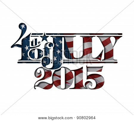 4Th Of July Cut-out 2015