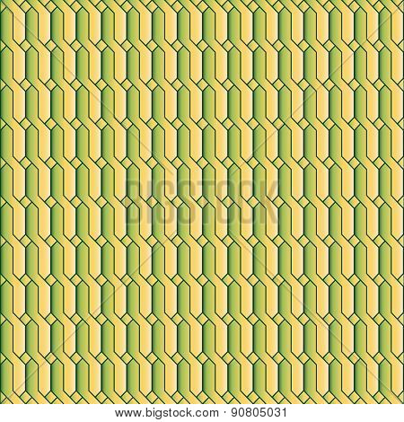 Green-yellow Chain Style Background