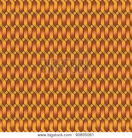 Golden Chain Style Background