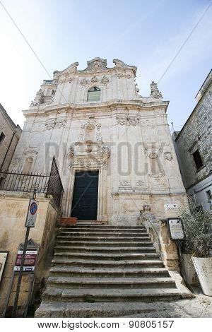 Museum In Ostuni, Puglia, Italy