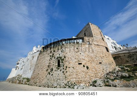 City Walls Of Ostuni, Puglia, Italy
