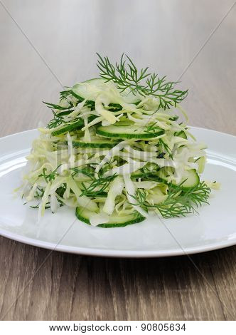 ?abbage Salad With Cucumber