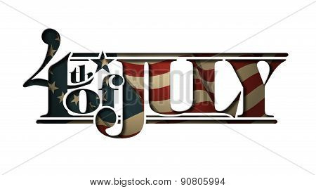 4Th Of July Cut-out 2015 All