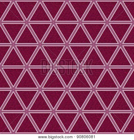 Magenta Jeans Background With Rhombs