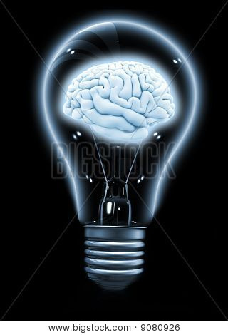 Lightbulb With A Brain