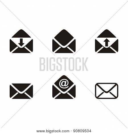 Vector Mail Envelope Icons