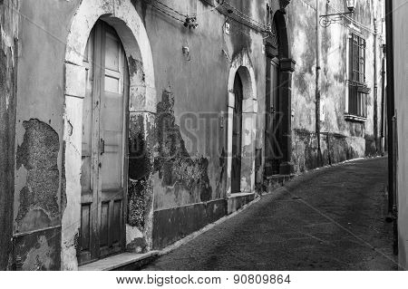Italy: The Old Streets Of Acireale
