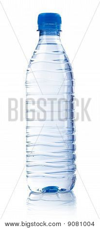 carbonated water in plastic bottle