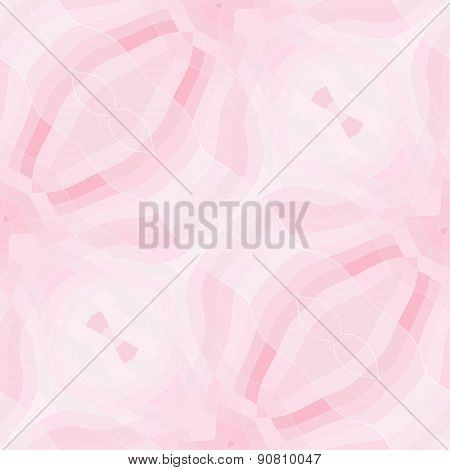 Seamless Mosaic Pattern Or Background In Pastel Pink