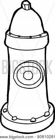 Fire Hydrant Outline