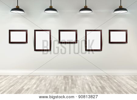 3D Gallery Interior