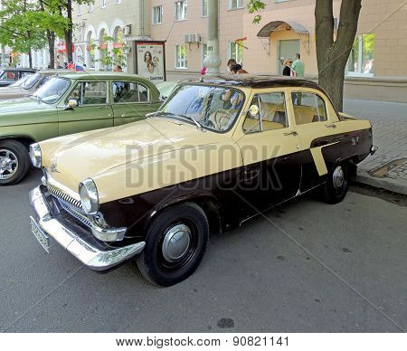 Retro Car Of 1960S Of Ussr Gaz-21 Volga