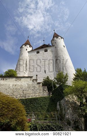 The famous Thun castle in Switzerland