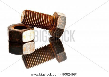 Bolt,thread,metal,dependence,concept