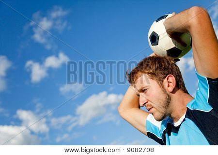 Man With A Football
