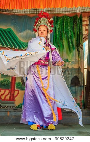 Chinese Opera Street Performance