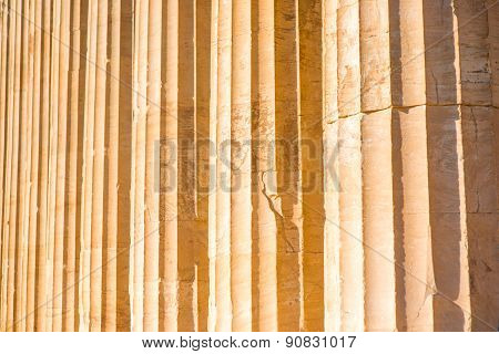 Ionic column background