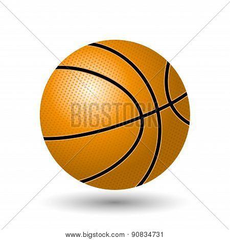 Vector illustration. Basketball.