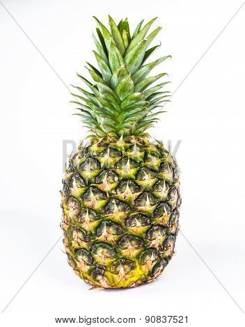 Isolated ananas. Element of design.