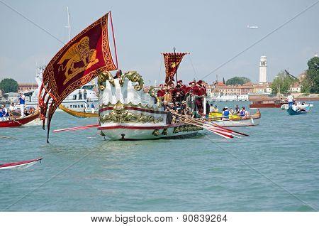 Ceremonial boat, Festa della Sensa, Venice