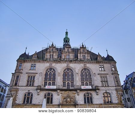 Halle an der Saale city hall Germany