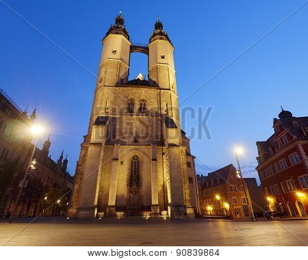 Church of Our Dear Lady in Halle Germany