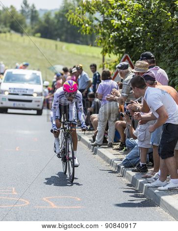 The Cyclist Nelson Oliveira - Tour De France 2014