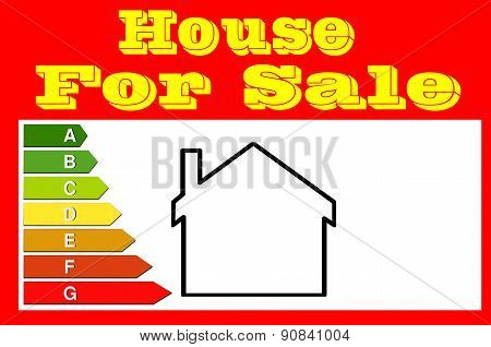 Sign For Real Estate Agents. House For Sale.