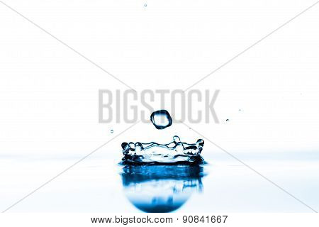 Water splashes background
