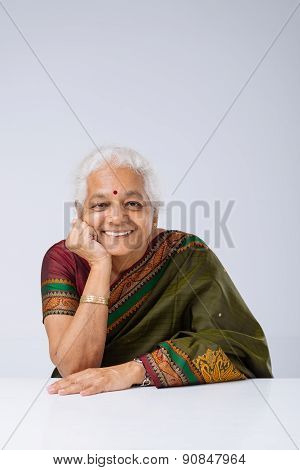Aged Indian Woman