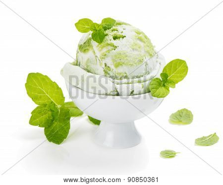 Kiwi Or Mint Ice Cream