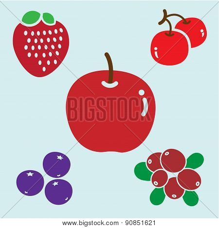 APPLE & BERRIES